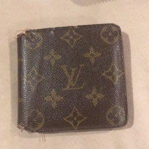 LV monogram men's wallet